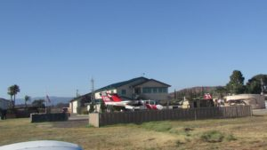 Firefighting planes at Ramona